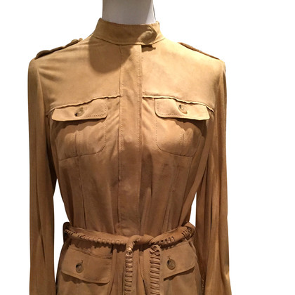 Aigner Suede leather costume