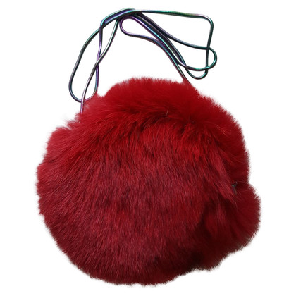 Diane von Furstenberg Fur shoulder bag