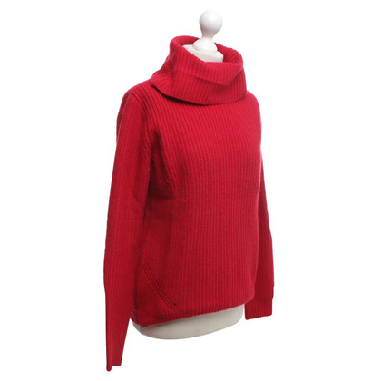 Bloom Sweater in red