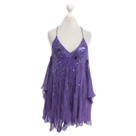 Patrizia Pepe Bluse in Violett Violett