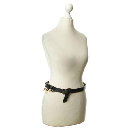 Ralph Lauren Leather belt in black