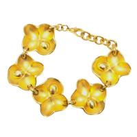 Oscar de la Renta Flower Bracelet