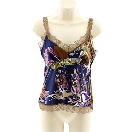 Blumarine Top silk