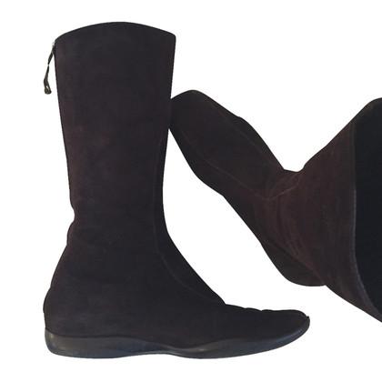 Prada Prada suede boots