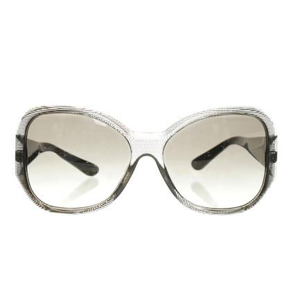 Versace Schwarze Sonnenbrille