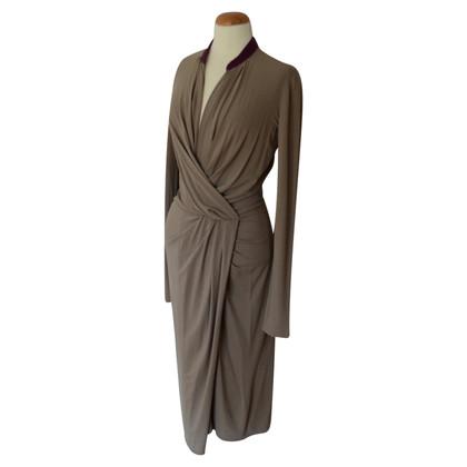 Philosophy di Alberta Ferretti Midi dress with ruffles