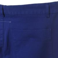 Maison Martin Margiela Pantalon en bleu de cobalt