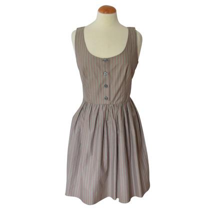 Prada Gestreiftes Kleid