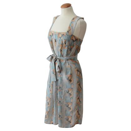 Other Designer Tucker - silk dress with belt