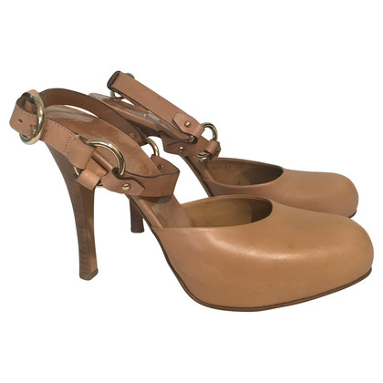 Bally Riemchenschuh in Beige