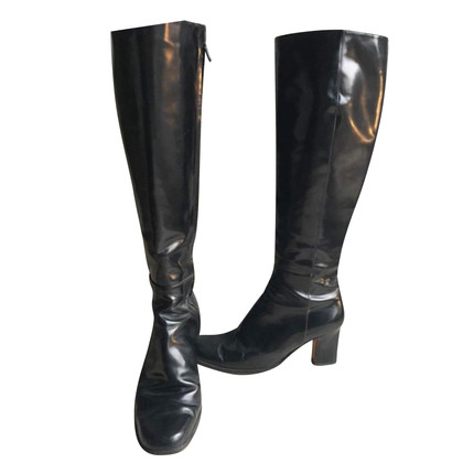 Calvin Klein Patent leather boots