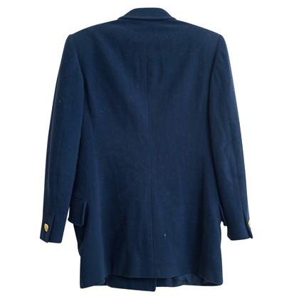 Iceberg Blazer di lana blu scuro