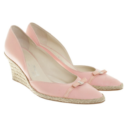 Salvatore Ferragamo Wedges in pink