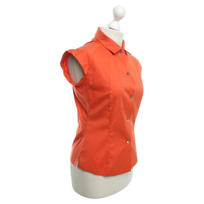 Jil Sander Short sleeve blouse in orange