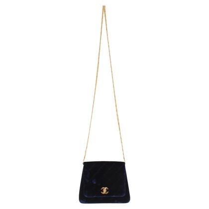 Chanel Shoulder bag made of velvet