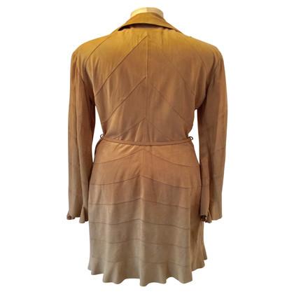 Ermanno Scervino leather coat