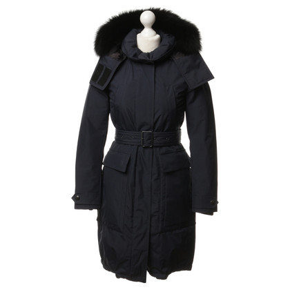 Burberry Parka in Navy