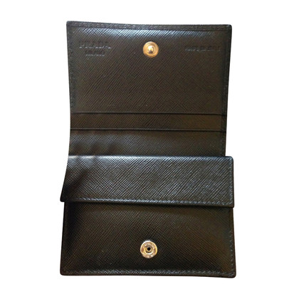 Prada Small Wallet black Vintage