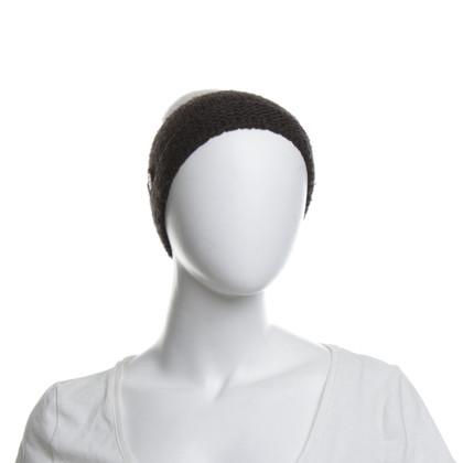 Armani Mütze mit Echtfellbommel