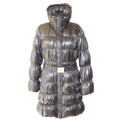 Laurèl Down quilted coat in black