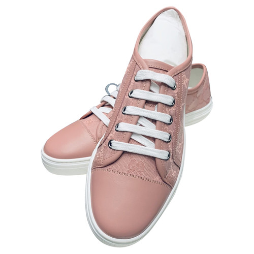a5edfb8dccd1ac Gucci Sneakers aus Leder in Rosa   Pink - Second Hand Gucci Sneakers ...
