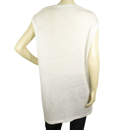 Neil Barrett top blanc long