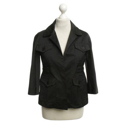 Cacharel Waisted jacket in black