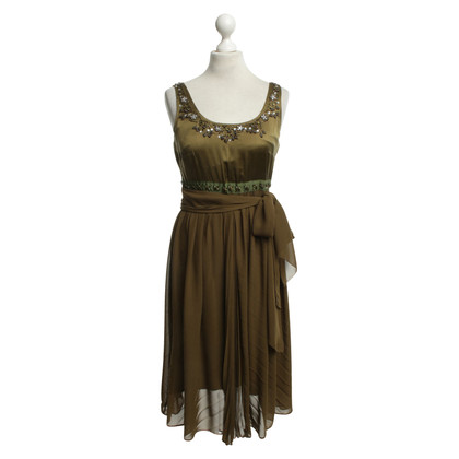 Chloé Dress in olive green
