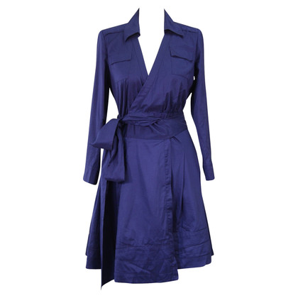 Diane von Furstenberg Wrap dress in dark blue