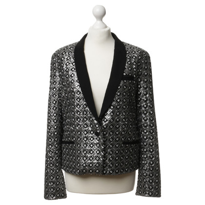 The Kooples Blazer met pailletten trim