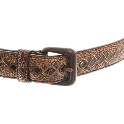 Bottega Veneta Belt with metallic coating