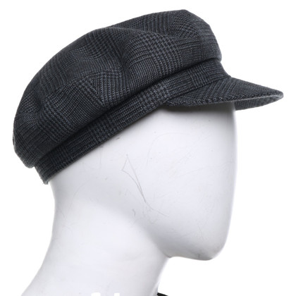 Isabel Marant Hat with plaid pattern