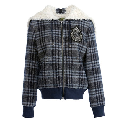 Juicy Couture Checkered wool jacket