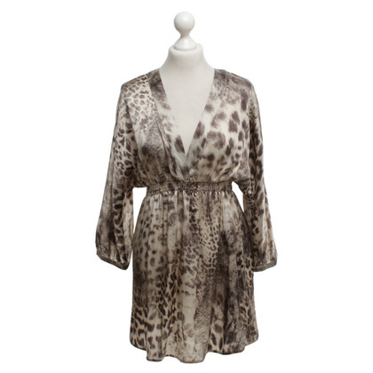 Set Tunic with leopard pattern