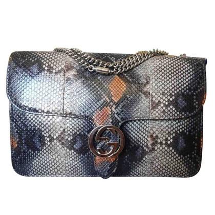 Gucci borsa in pitone