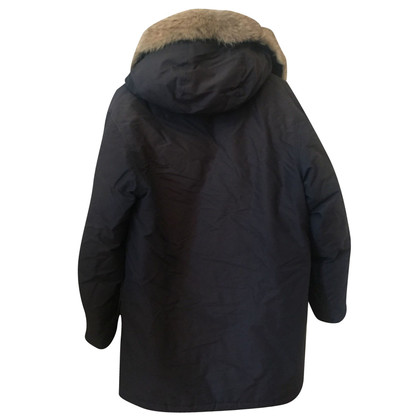 Woolrich Arctic parka in donkerblauw