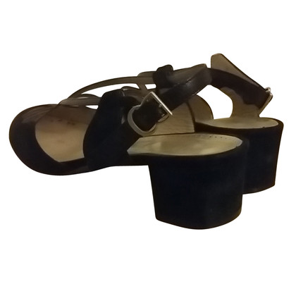 Bally Sandaletto basso nero
