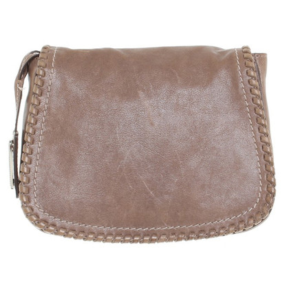 Bogner Leather Satchel in Bruin