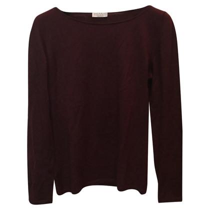 Brunello Cucinelli maglia maglione in cashmere / seta