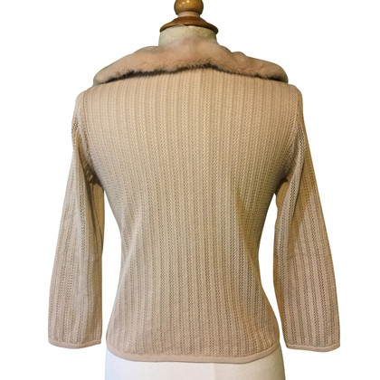 Blumarine Sweater with mink