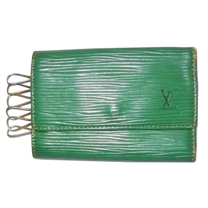 Louis Vuitton Keyring 6 hooks leather Epi