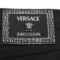 Versace Hose in Schwarz