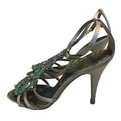 Alberta Ferretti juweel sandalen