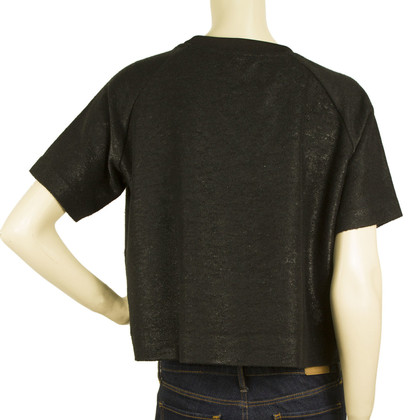 Zoe Karssen Black Cropped Top