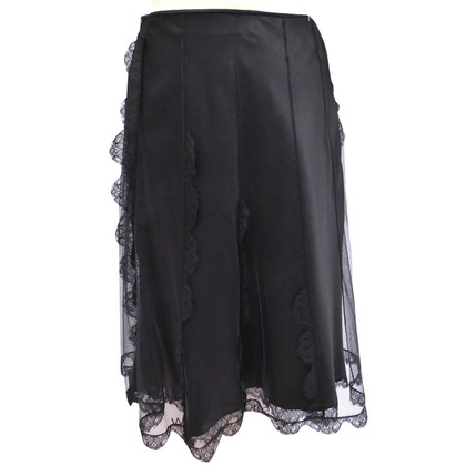 Christian Dior Tulle skirt with ruffles