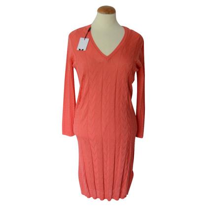 Missoni orange knit dress