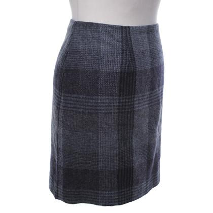 Hobbs Wool skirt with check