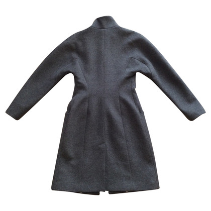 Stefanel Grey wool coat