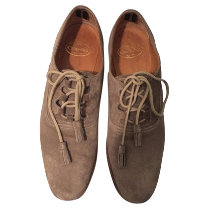 Church's Suede lace-up shoes