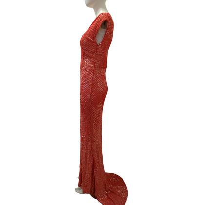 Barbara Schwarzer Abendkleid mit Pailletten